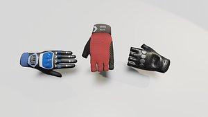 3D glove sports