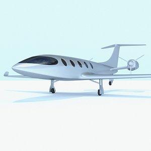 Electric Jet Alice 3D model