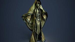 3D magician character
