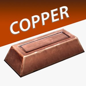 Copper Ingot 3D