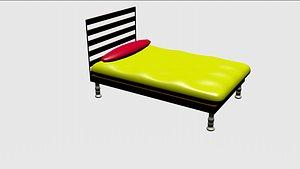 cartoon bed model