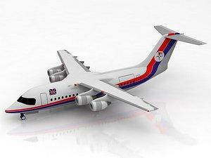 3D BAe 146-100 Atlantis