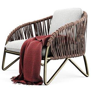 branzie armchair 3D model