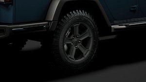 3D jeep gladiator rubicon