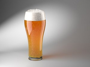 Animated Beer 3D