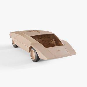 1970 Lancia Stratos Zero 3D model
