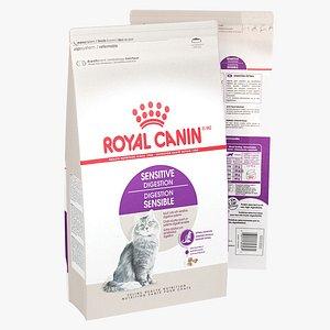 3D Royal Canin Sensitive Digestion Animal Food model