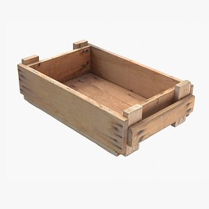 Wooden Crate 3D