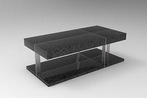 beliani design sofa table 3D model