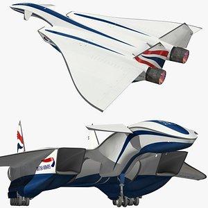 DRAKO British Airways 3D model