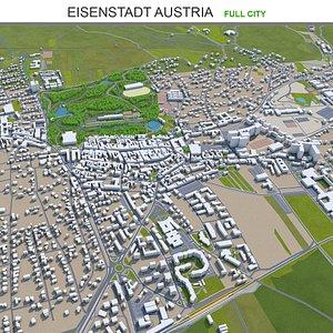 3D Eisenstadt Austria model