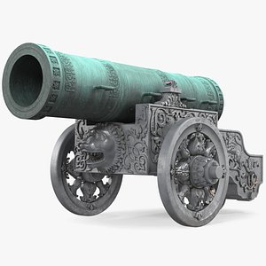 tsar cannon artillery weapon model