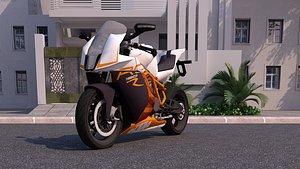 3D model KTM 1190 RC8
