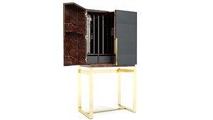 3D model Luxxu Lloyd Bar Cabinet
