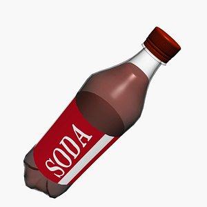 Plastic  soda bottle