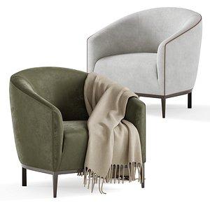 zuster sabrina tub chair 3D model