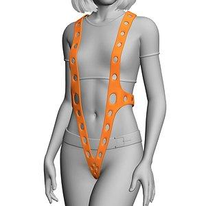 3D suspenders leeloo