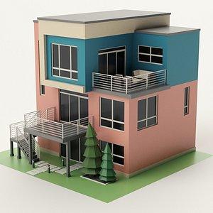 Modern House 15 3D model