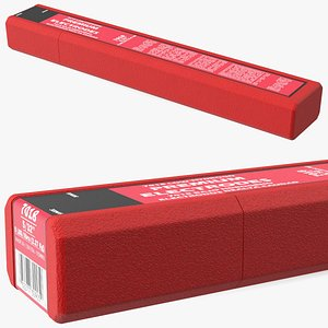 Welding Electrodes E7018 5 Lbs Package 3D model