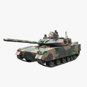 ZTQ-15 Light Tank model