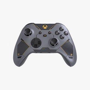 Xbox Controller Halo Infinite 3D model