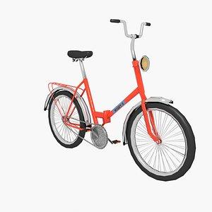 bike bicycle vehicle 3D model