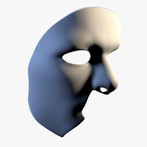 3D mask masque phantom opera