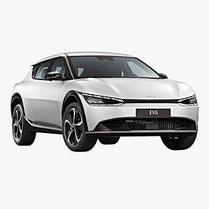3D model 2022 Kia EV6