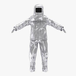 3D Fire Proximity Suit model