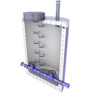 3D Underground Water Meter Well Diagram Inside 6