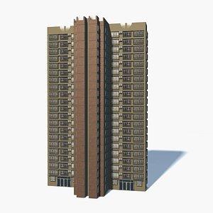 kong building 0010 3D model