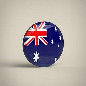 3D Australia Badge