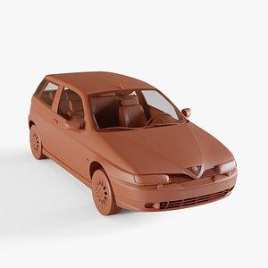 3D alfa romeo 145 model