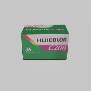 film fuji c200 3D