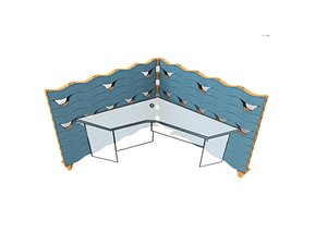 3D modular partition