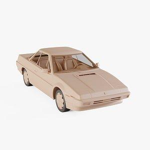3D 1985 Subaru XT model