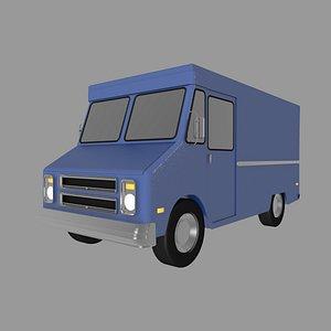 3D model van chevrolet p10