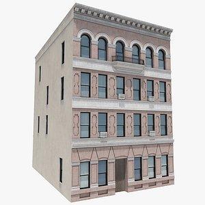3D Manhattan Building 05, 8K PBR Textures