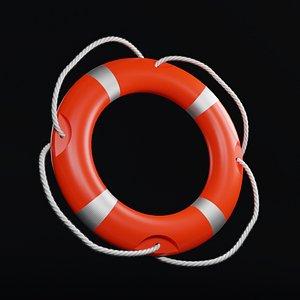 lifeguard maritime 3D model