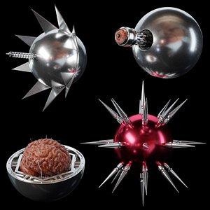 3D Phantasm sentinel spheres part 2 model
