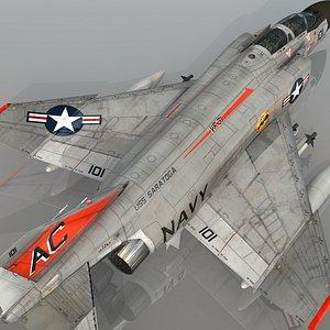 3D F4 J NAVY Phantom II Tomcatters VF-31 USS  Saratoga model