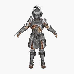 3D predator samurai model