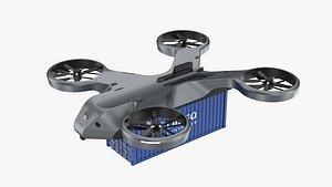 drone cargo 3D