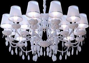 chandelier lamp lights 3D