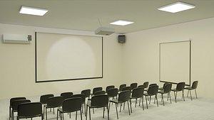 Presentation Room 3D model