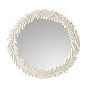 3D resin mirror