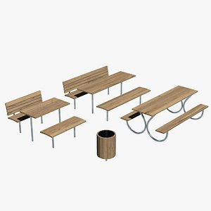 3D Bench wood collection