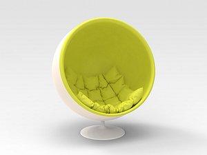 3D Shell Chair
