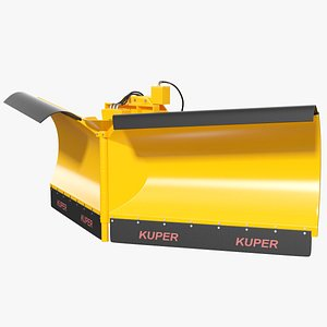 3D kuper snow plough blade