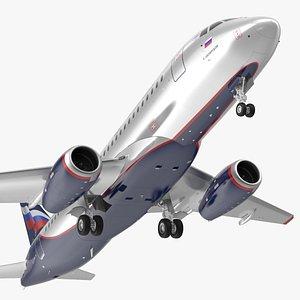 Sukhoi Superjet 100 95lr Aeroflot model